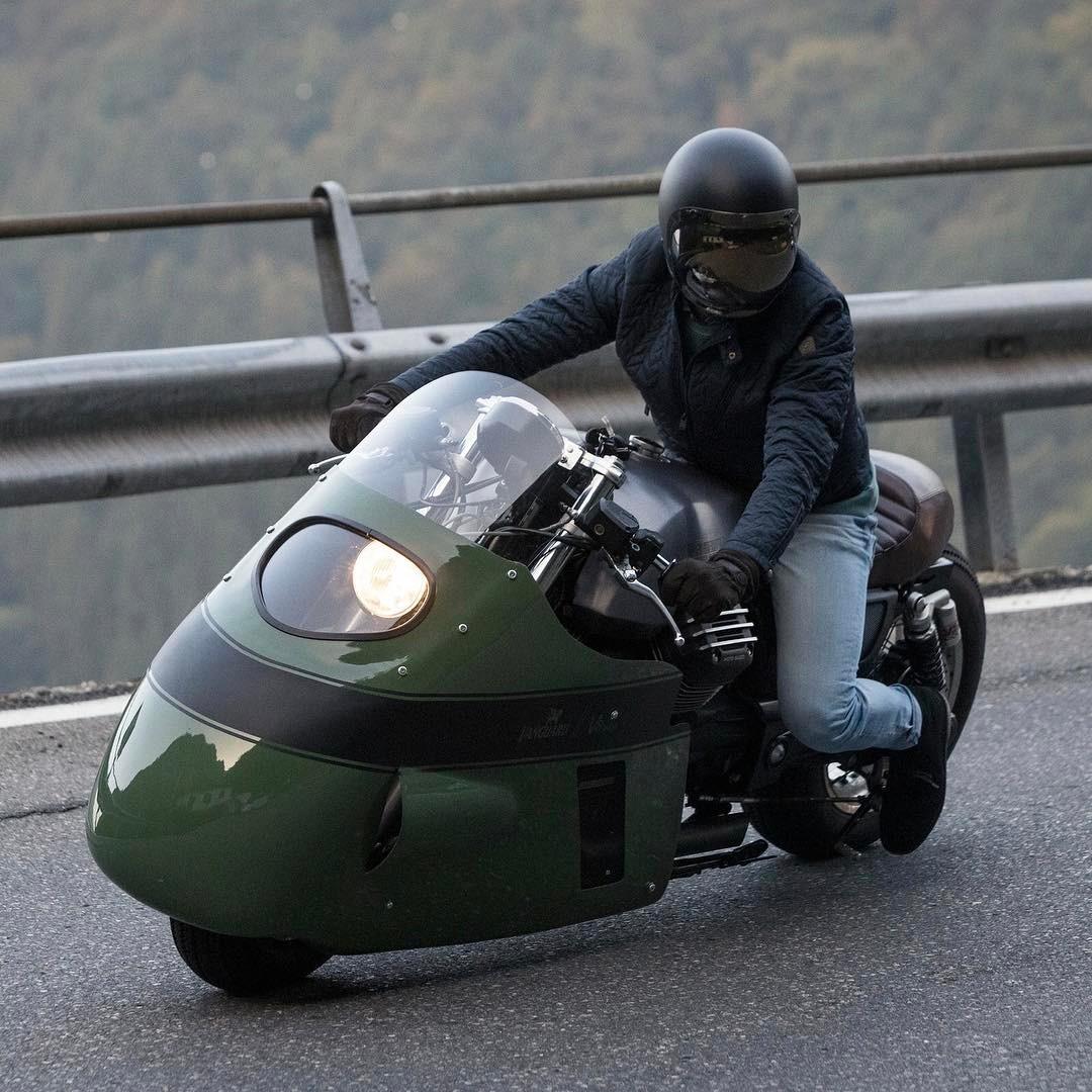 Vanguard Moto Guzzi V8 Gannet Design