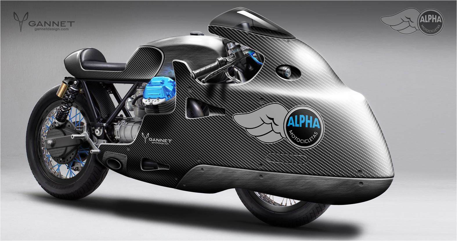 Moto Guzzi Gannet Design