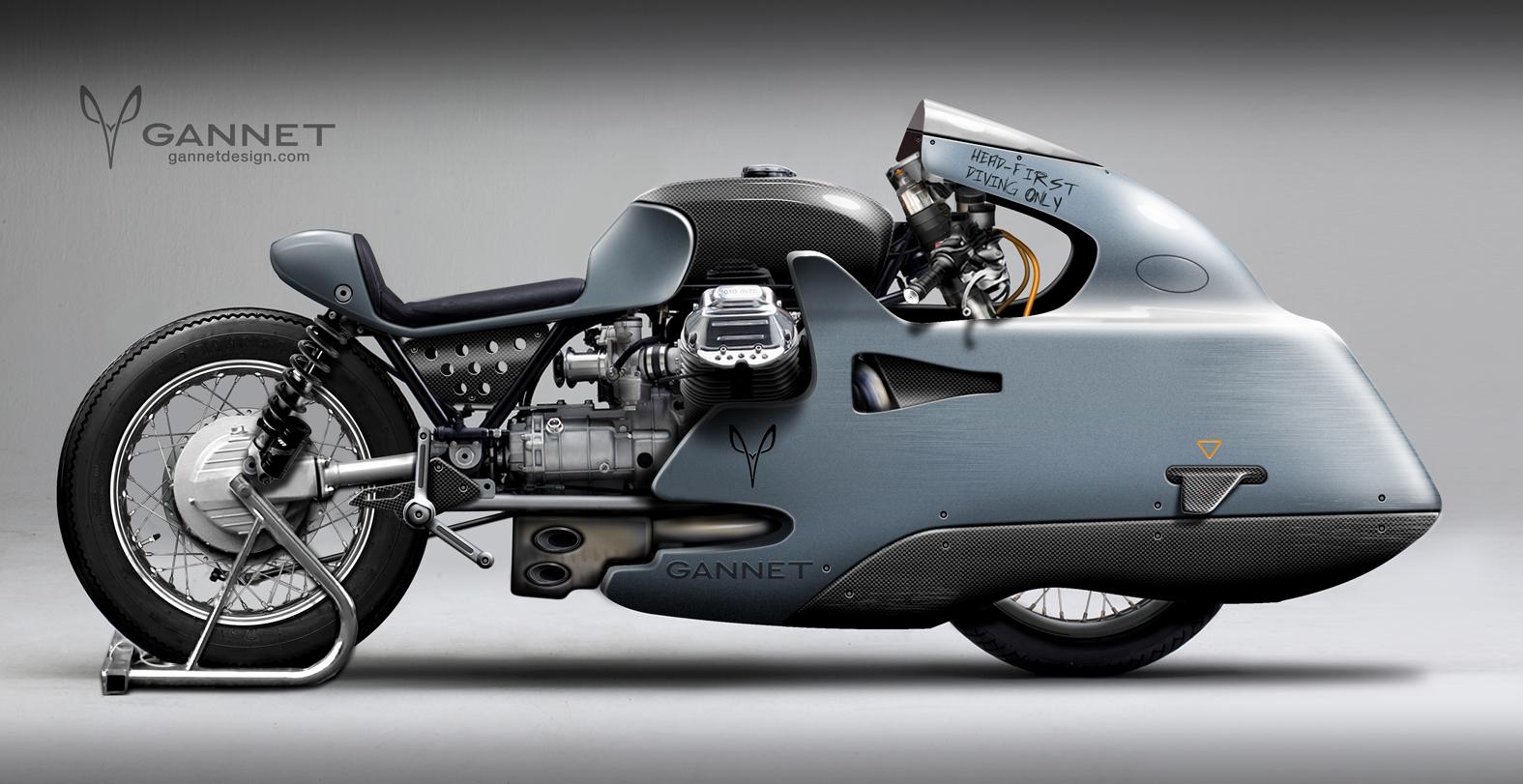 moto guzzi � gannet design