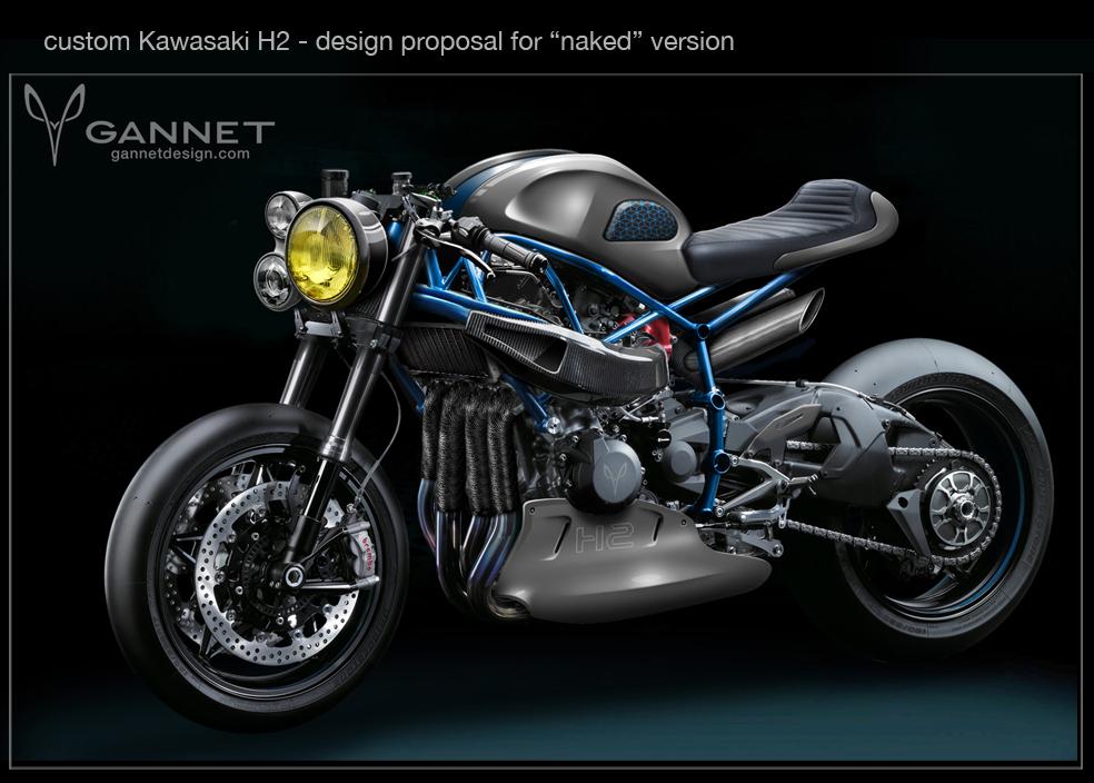 Kawasaki GANNET Design