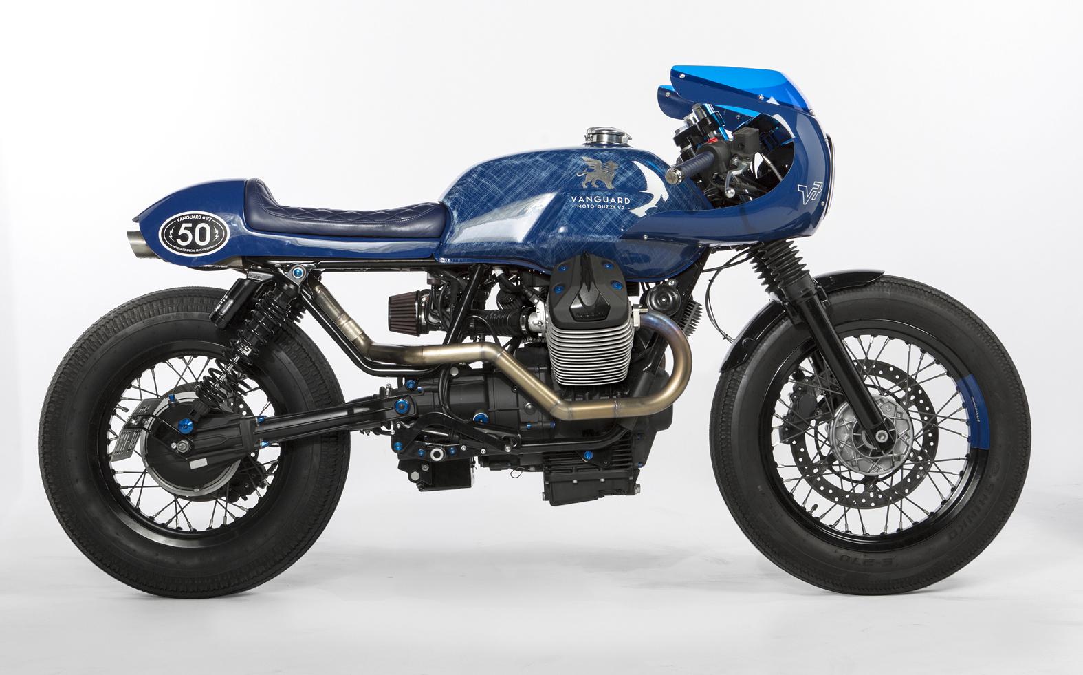 vanguard moto guzzi v7 gannet design. Black Bedroom Furniture Sets. Home Design Ideas